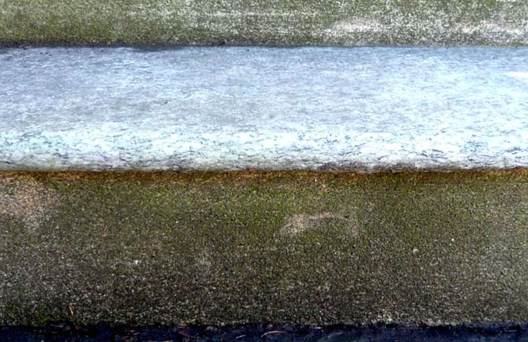 Pulizia lastricati esterni in pietra naturale
